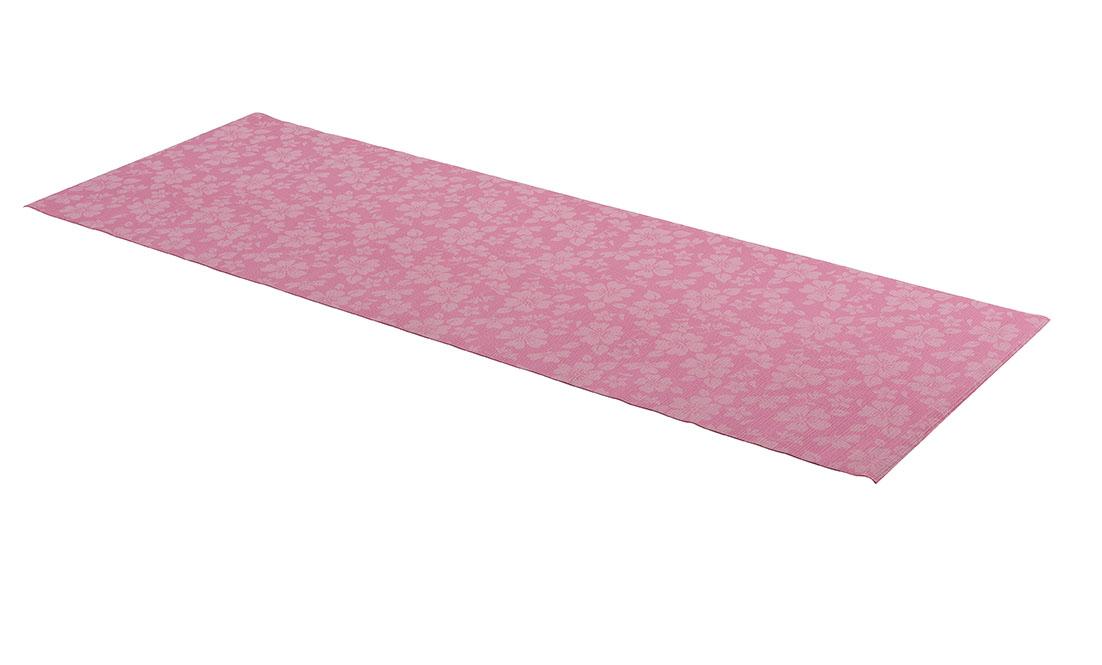 Tunturi Bedruckte Yogamatte - Pink