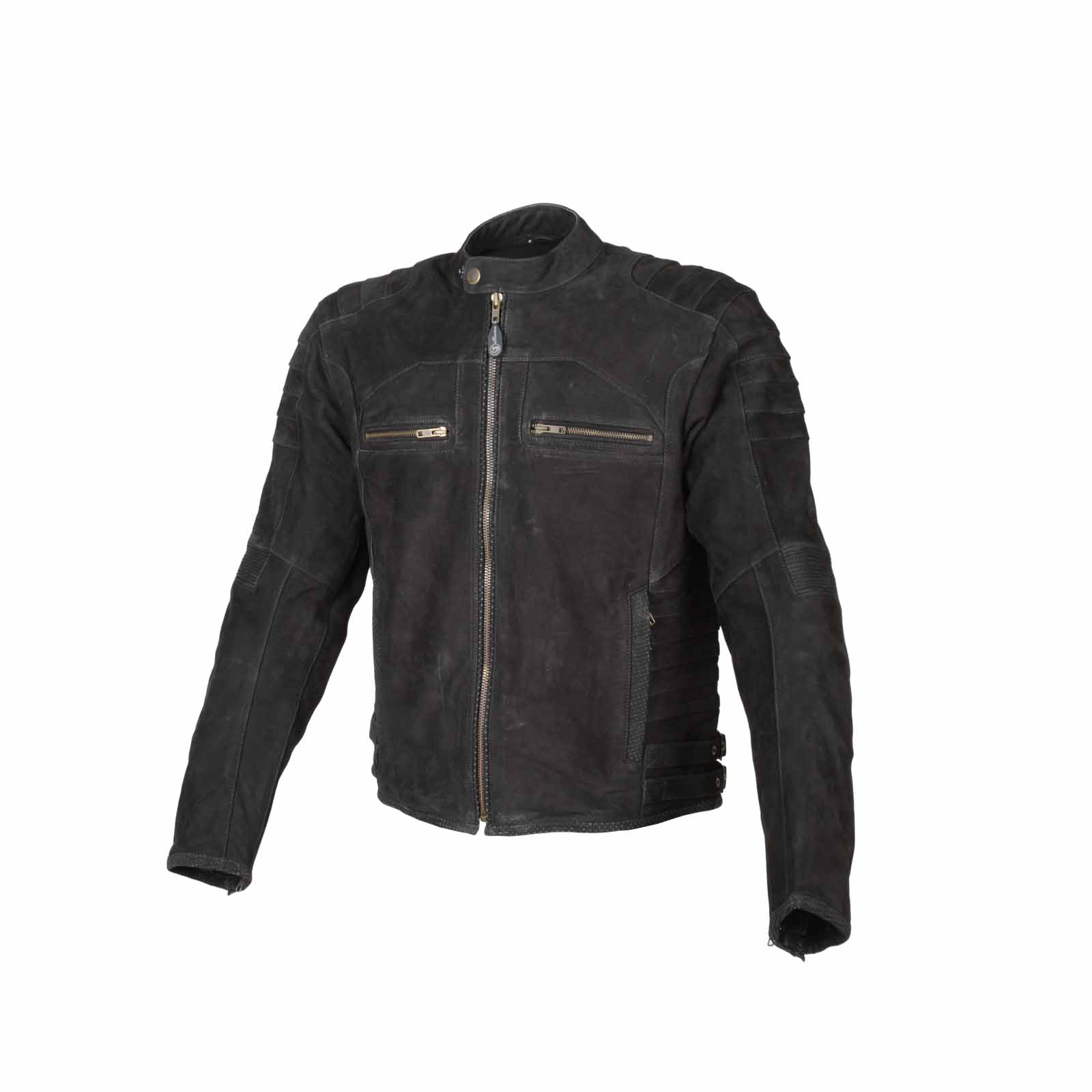 Image of   19series Chatot Jacket - Black Suede