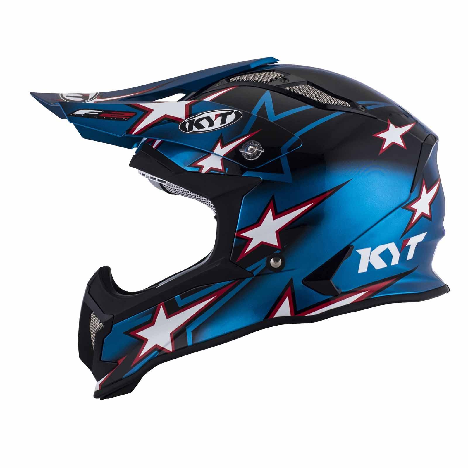 Kyt Strike Eagle Romain Febvre Replica MX Helm