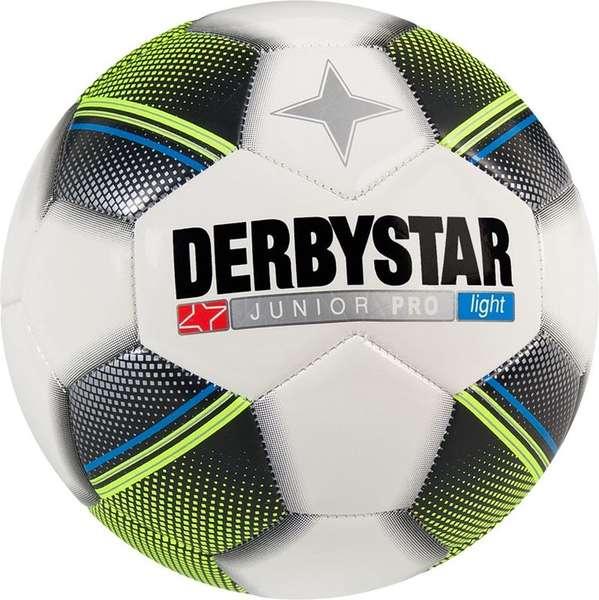 Derbystar Pro Light Football Junior Tamaño 5 - Blanco / Negro