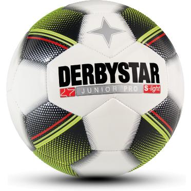 Derbystar Pro S-Light Football Junior Tamaño 3 - Blanco / Negro