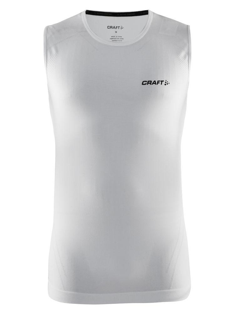 Image of   Craft Active Comfort Round Neck Singlet Men - Hvid - M