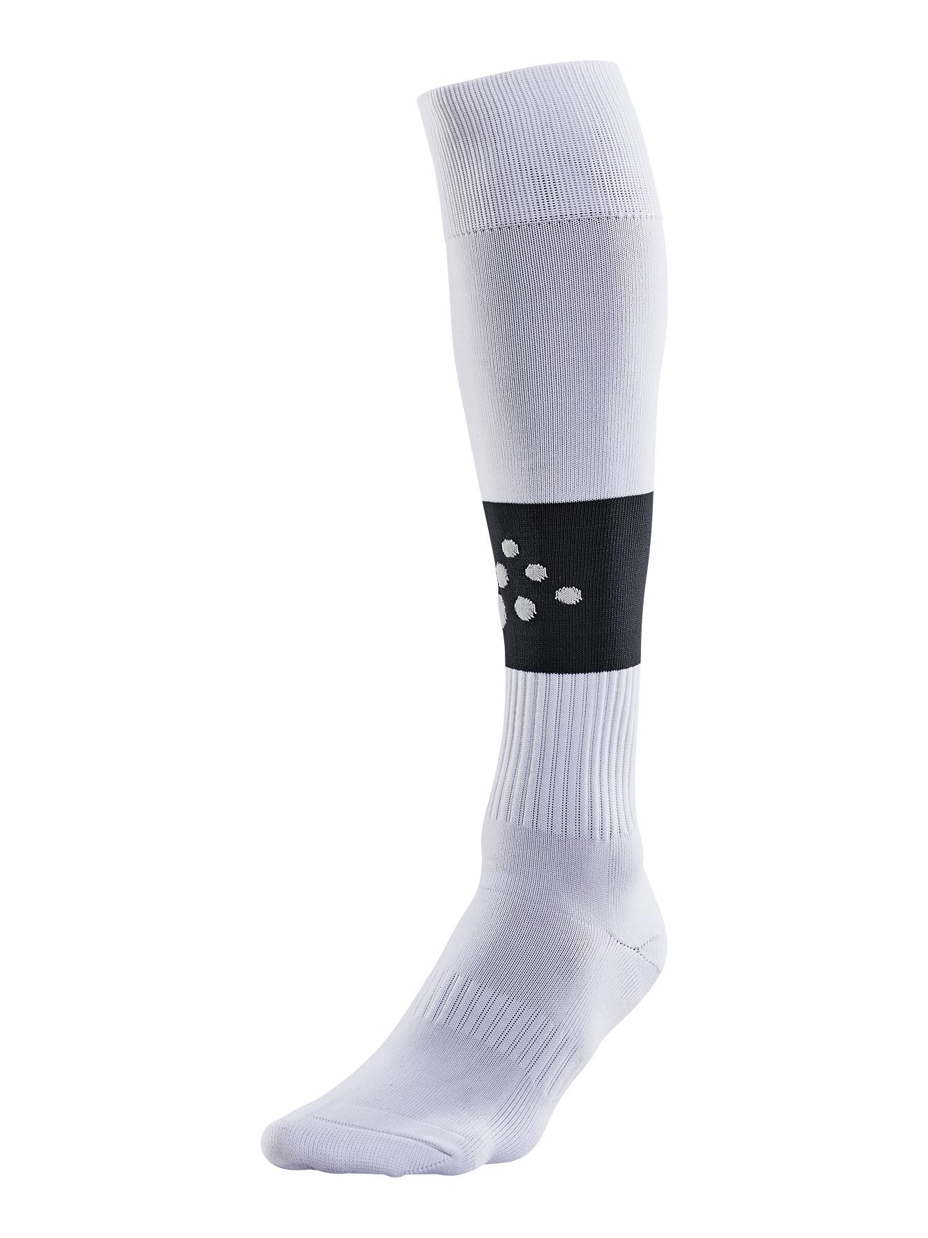 Craft Squad Contrast Stocking Senior - White / Black - 46/48