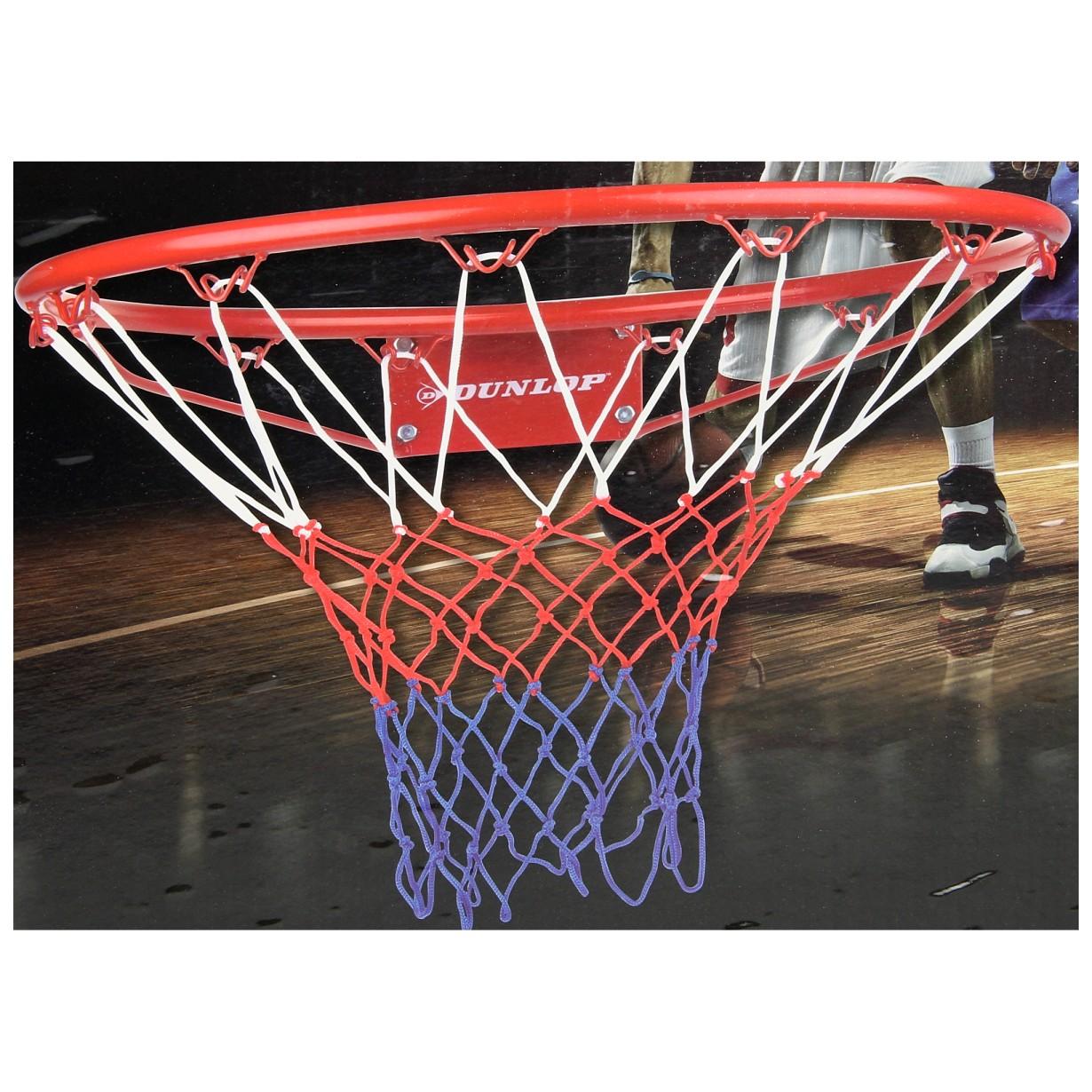 Image of   Dunlop Basketbalring med Net - Ø 45 cm