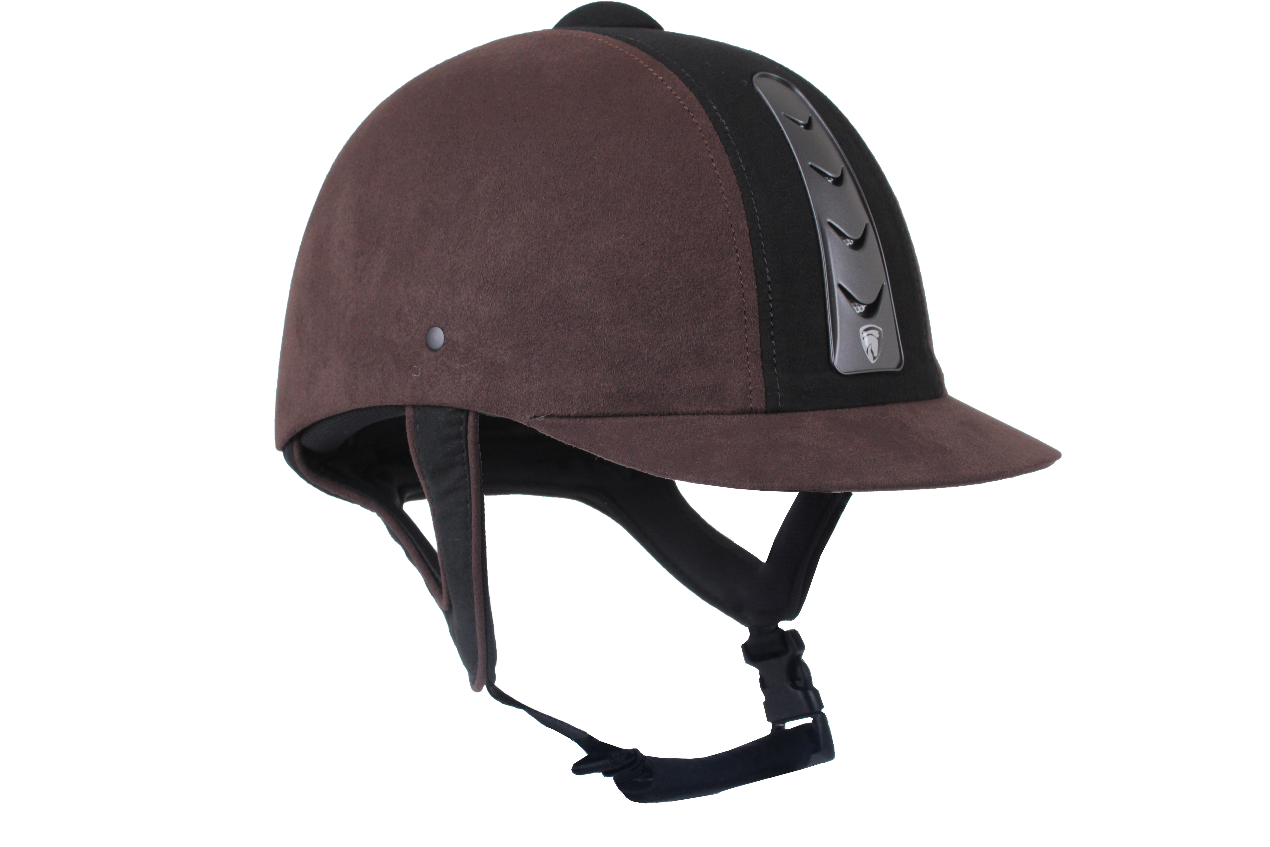 Horka Hawk Riding Helmet Leather - Brown - 58