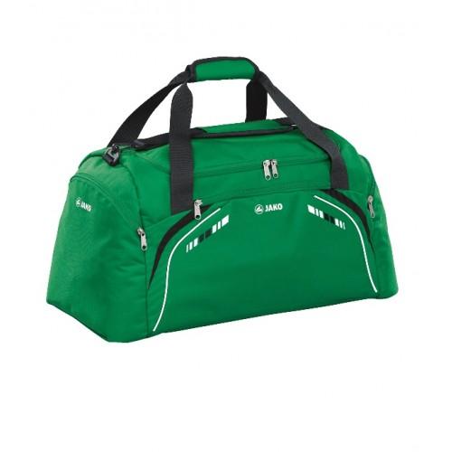 Sporttas Champion met zijvakken groen/zwart