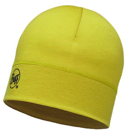 Image of   Buff Merino Wool 1 Layer Hat - Solid Ocher