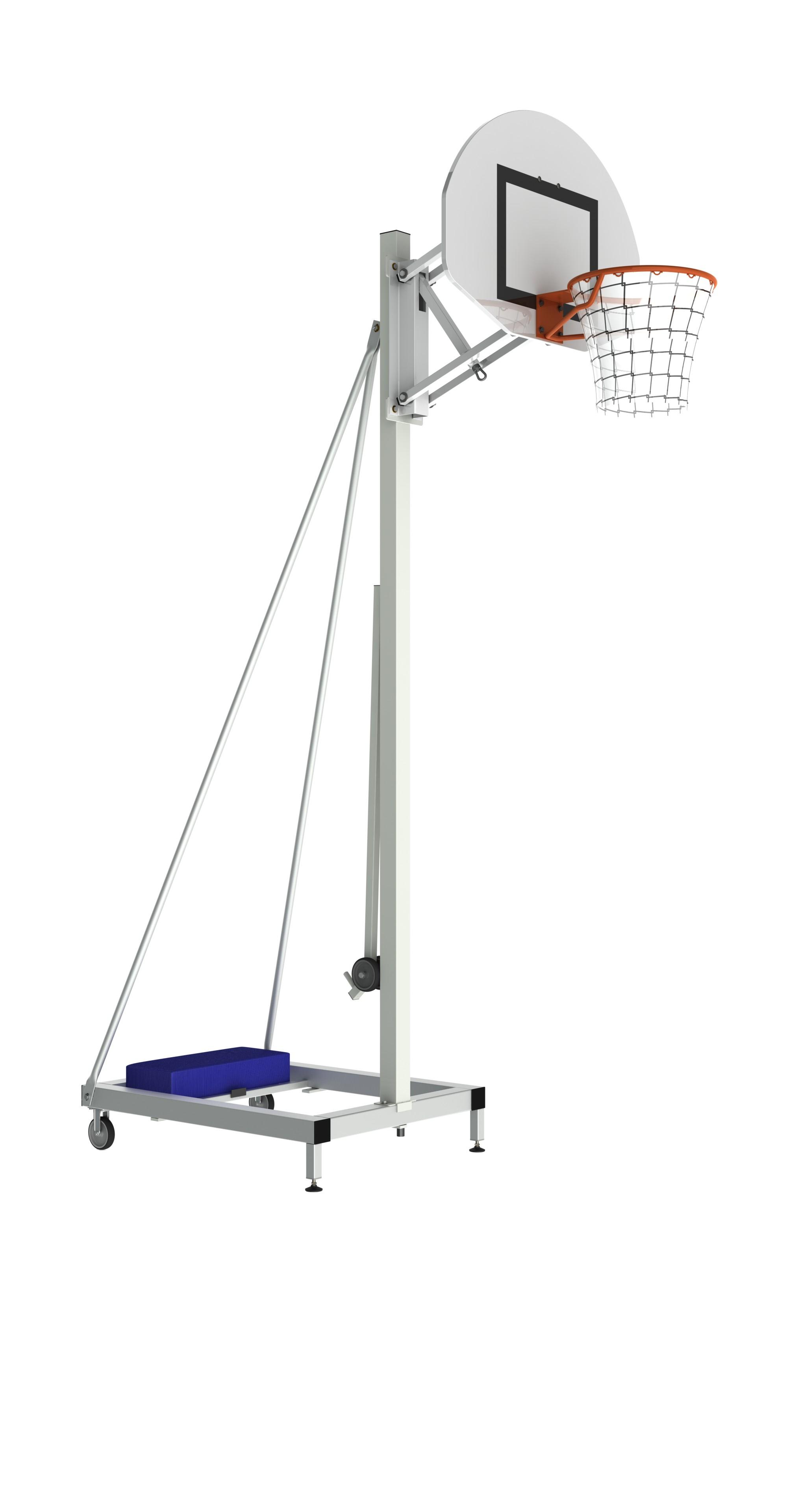 Image of   Basketball Portable Training Goal - Justerbar højde - Overhæng 0,6 m