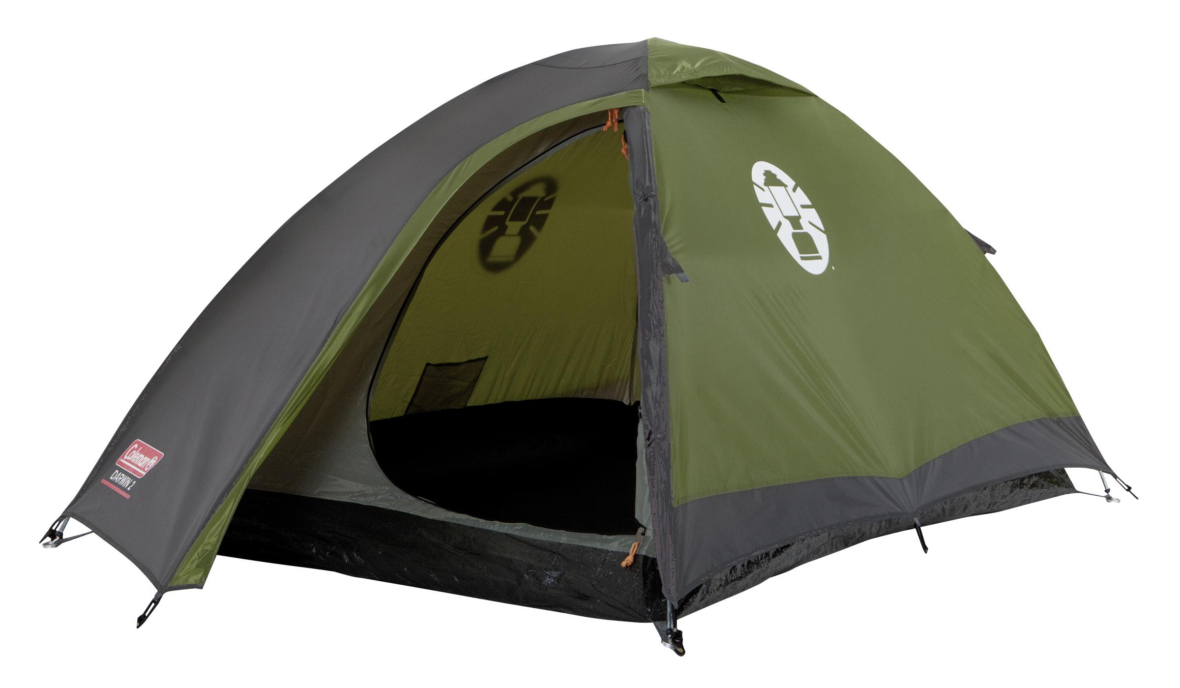 Coleman Darwin 2 Koepel Tent - Groen/Grijs