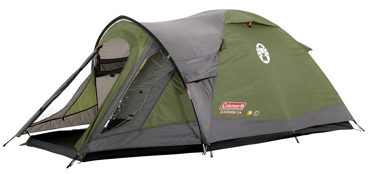 Coleman Darwin 2+ Koepel Tent - Groen/Grijs