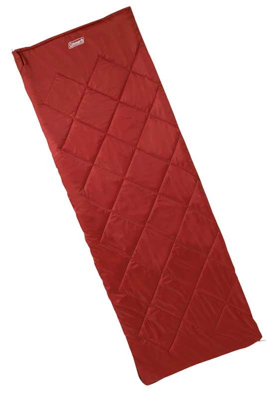 Image of   Coleman Durango Single Red Sleeping Bag - Rød