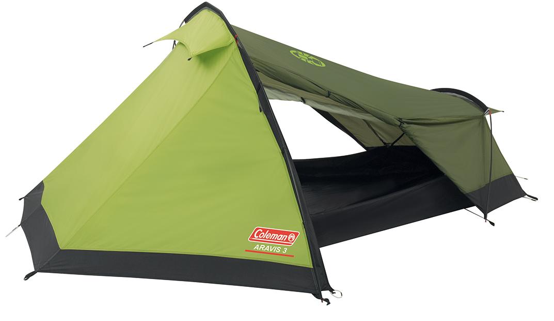 Coleman Aravis 3 Epsilon Tent - Licht Groen/Groen