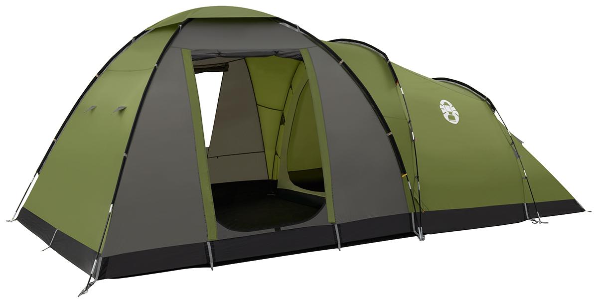 Coleman Raleigh 5 Dome 35 Tent - Groen/Grijs