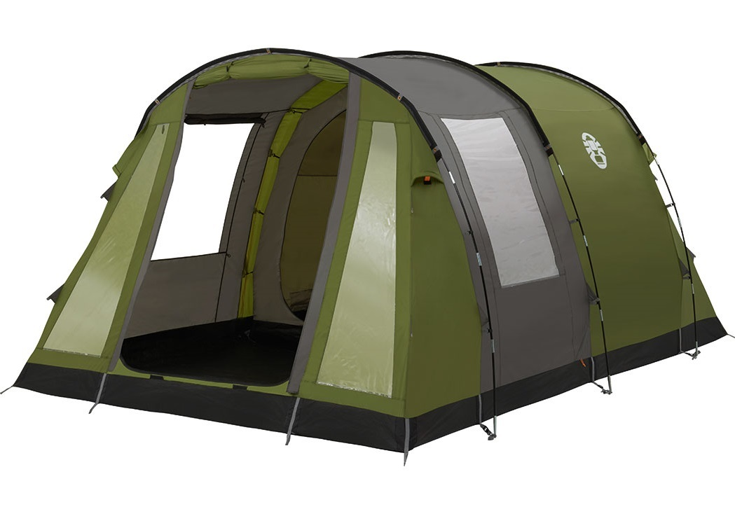 Coleman Cook 4 Tent - Groen - Grijs