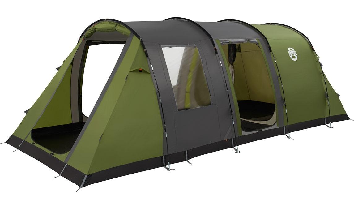 Coleman Cook 6 Tent - Groen - Grijs