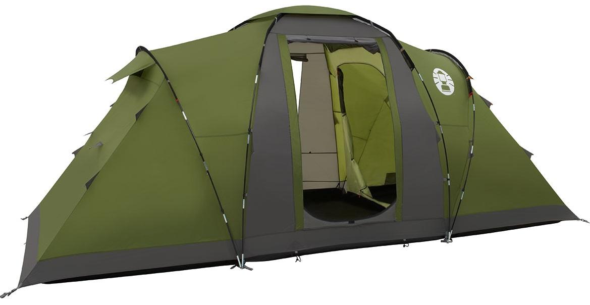 Coleman Bering 4 Tent - Groen - Grijs