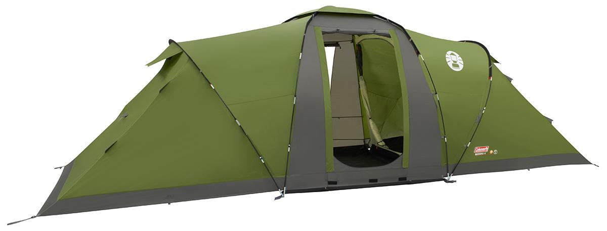 Coleman Bering 6 Vis a vis Tent - Groen/Grijs
