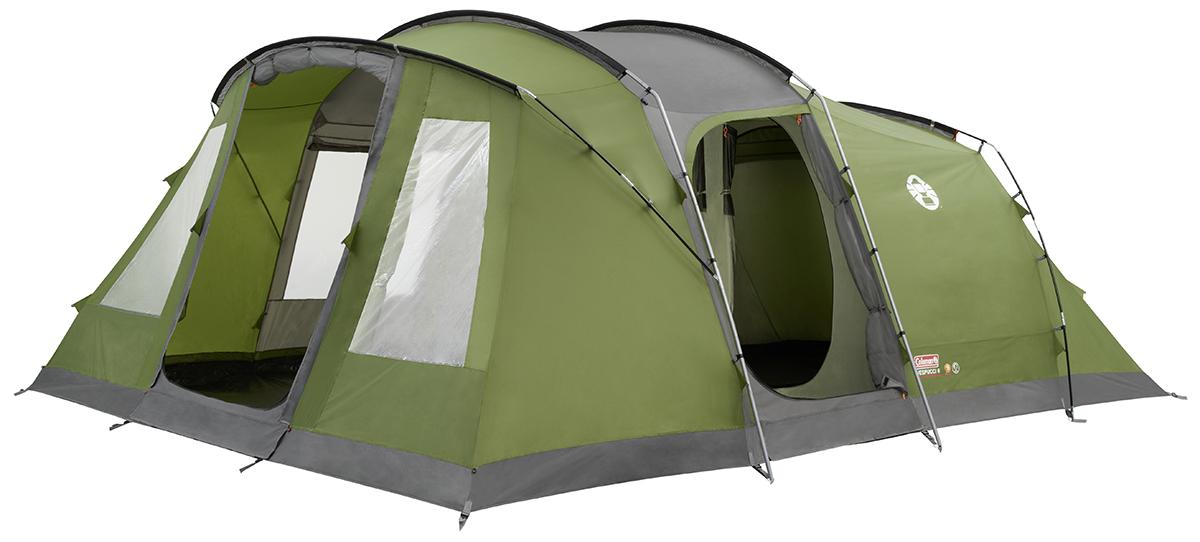 Coleman Vespucci 6 Hybrid Tent - Groen/Grijs