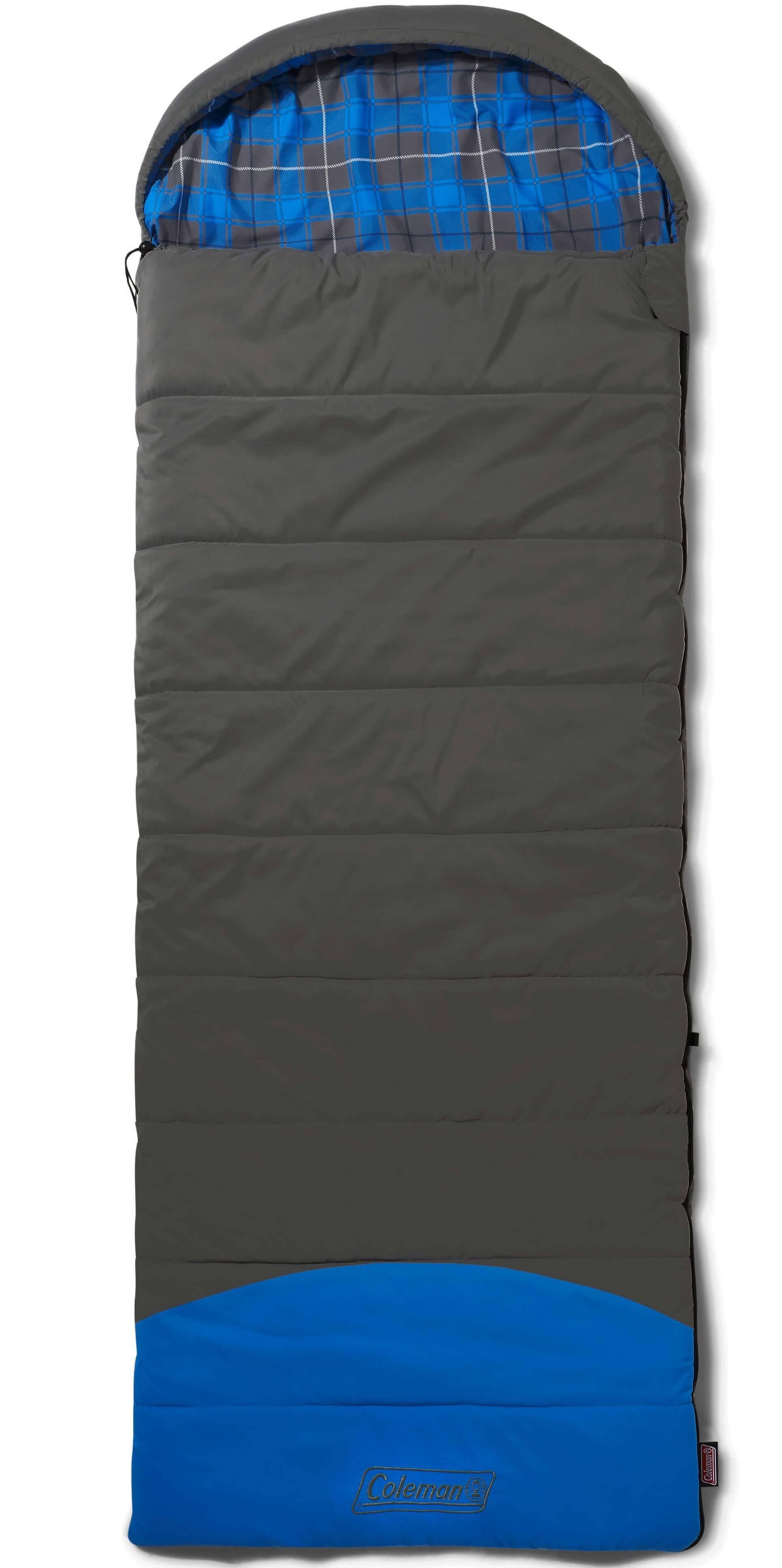 Image of   Coleman Basalt Single Sleeping Bag - Grey / Blå