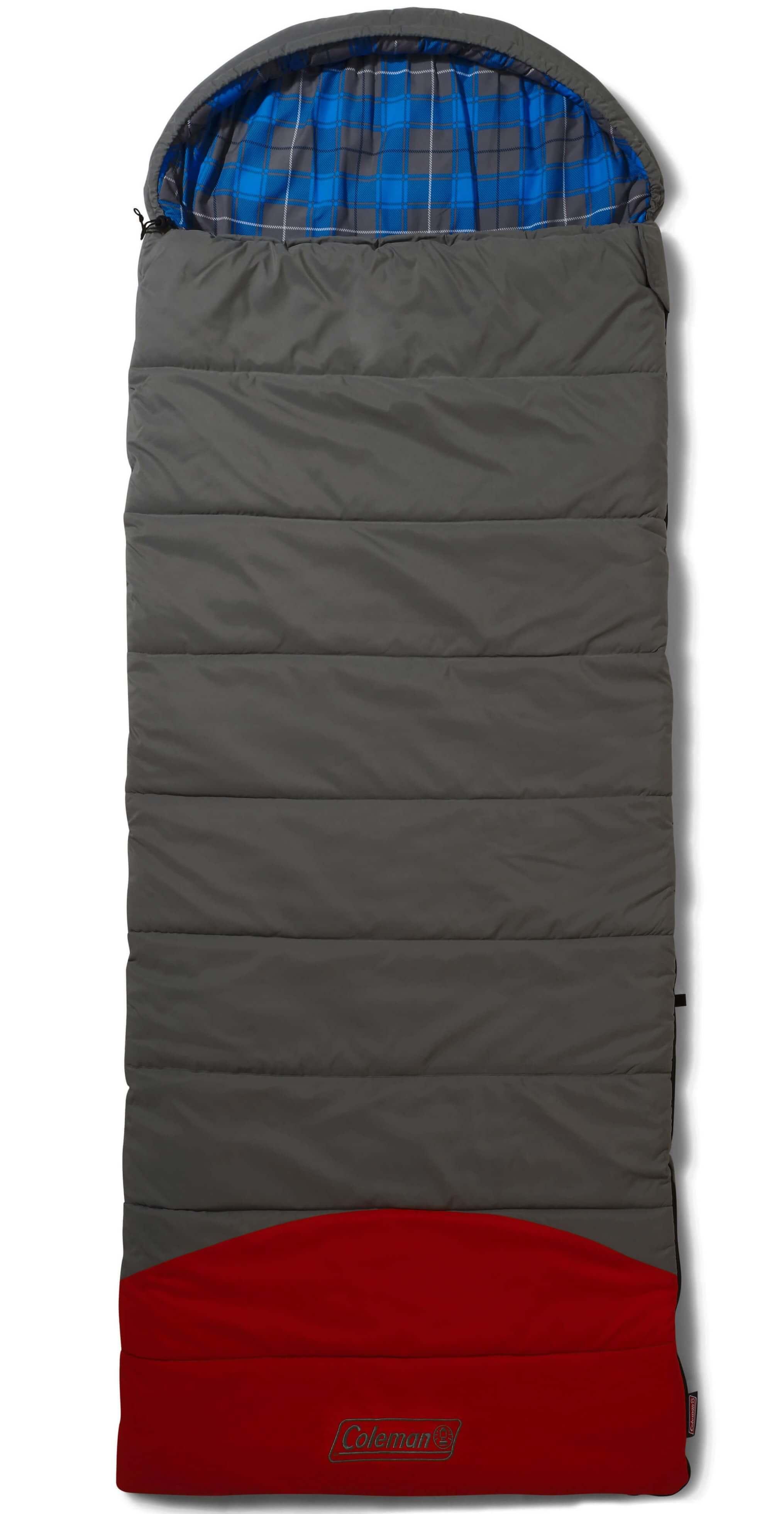 Image of   Coleman Basalt Comfort Sovepose - Grey / Rød / Blå