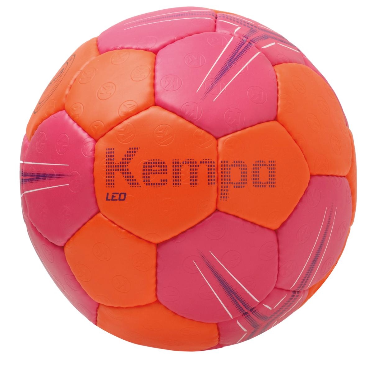 Image of   Kempa Leo Handball - Størrelse 2 - Rose / Gulerod / Lilla