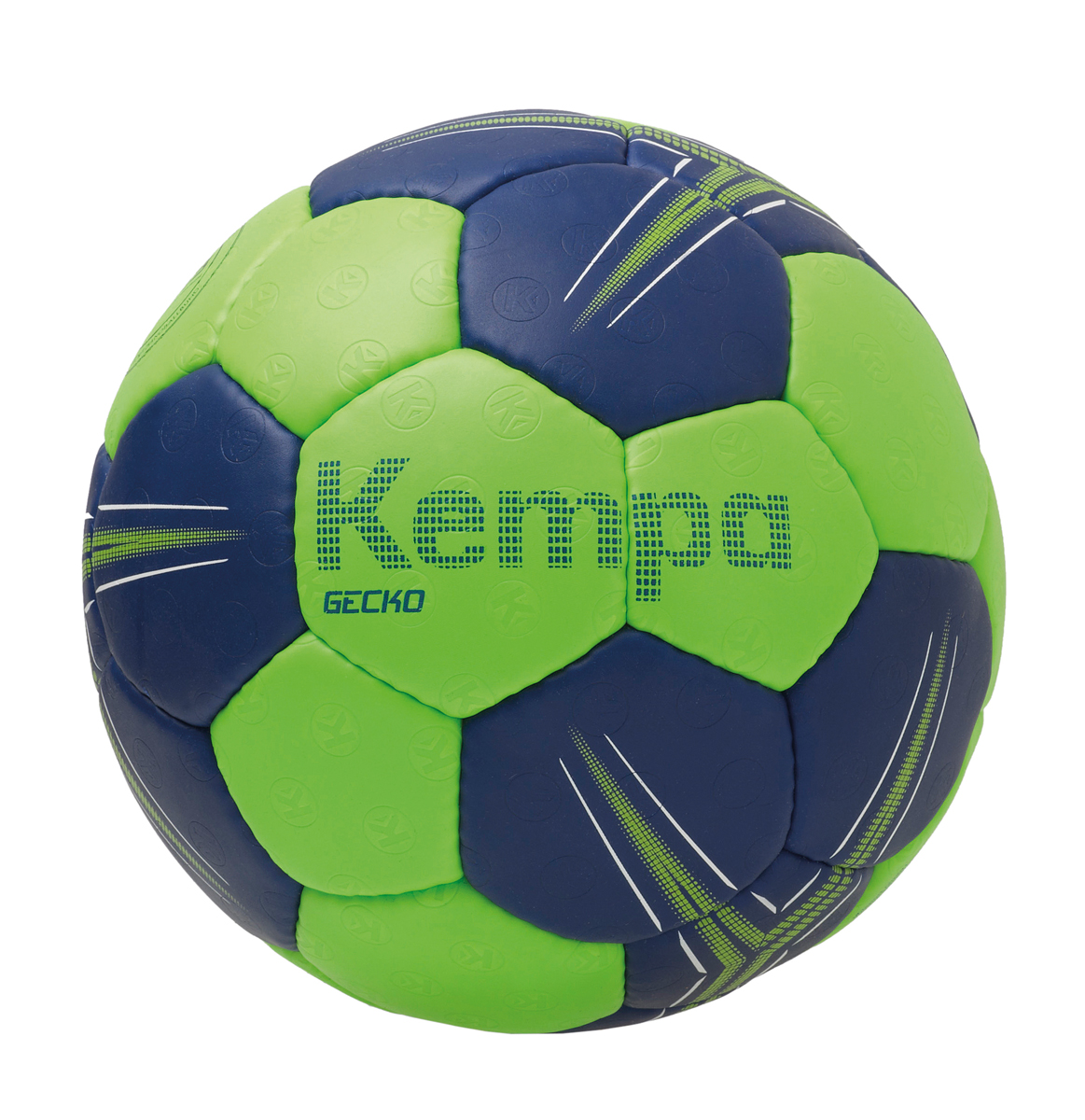 Image of   Kempa Gecko Handball - Størrelse 3 - Flash Green / Deep Blue