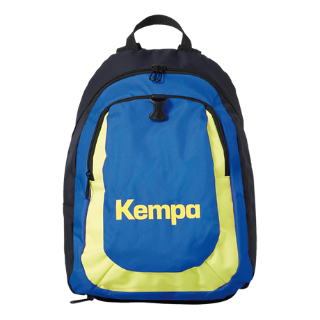 Image of   Kempa Kids Rygsæk - Navy / Royal / Fluo Yellow