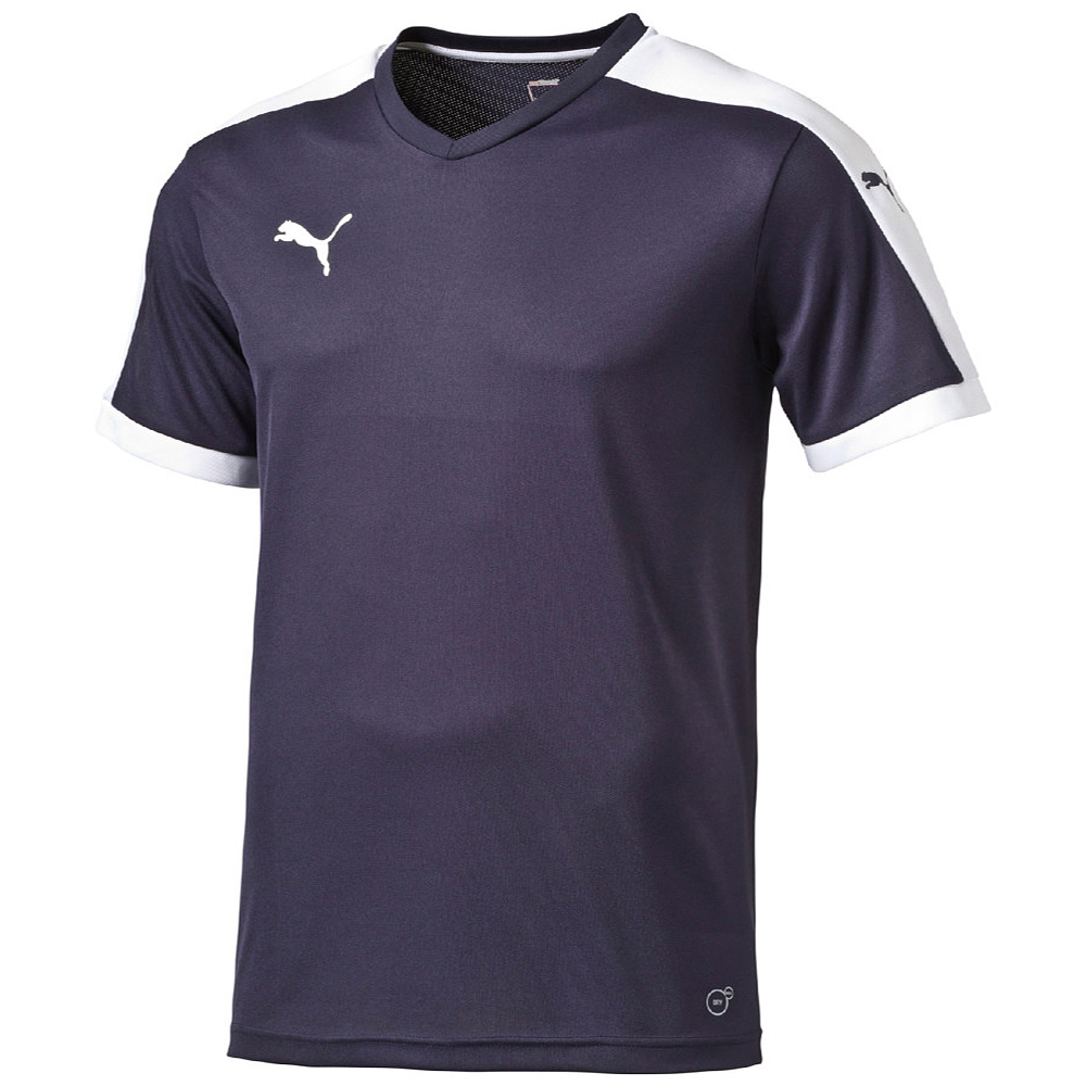 Image of   Puma Pitch Shortsleeved Shirt - Men - Navy - L