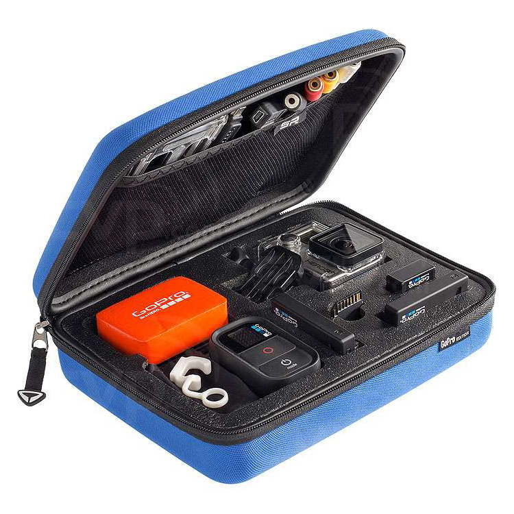 GOPRO SP POV CASE LARGE BLUE