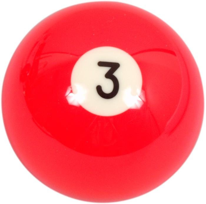 Image of   Aramith Loose Billiard No.3 Ball 57.2mm