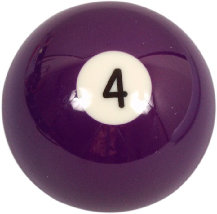 Image of   Aramith Loose Billiard No.4 Ball 57.2mm