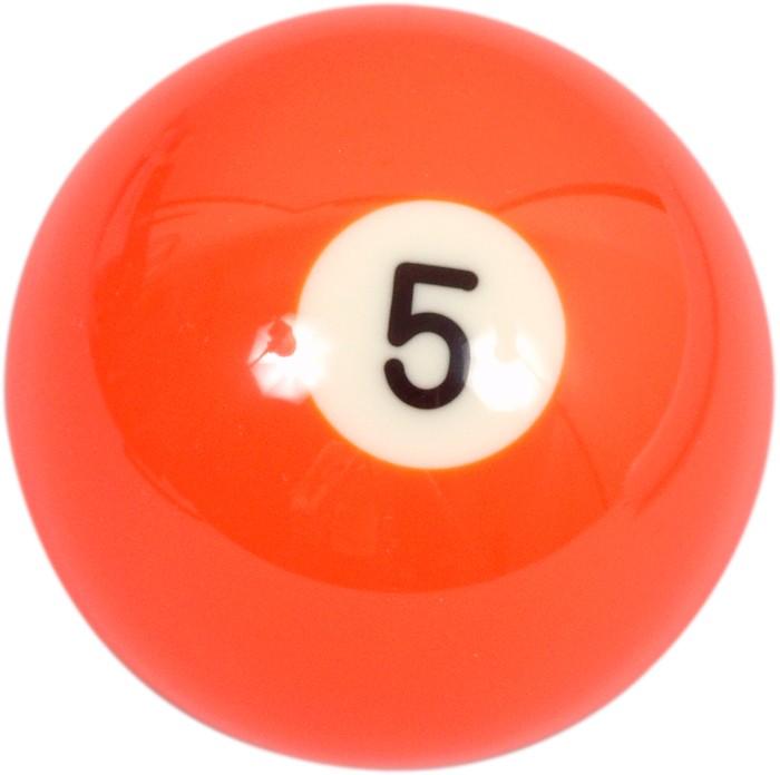 Image of   Aramith Loose Billiard No.5 Ball 57.2mm