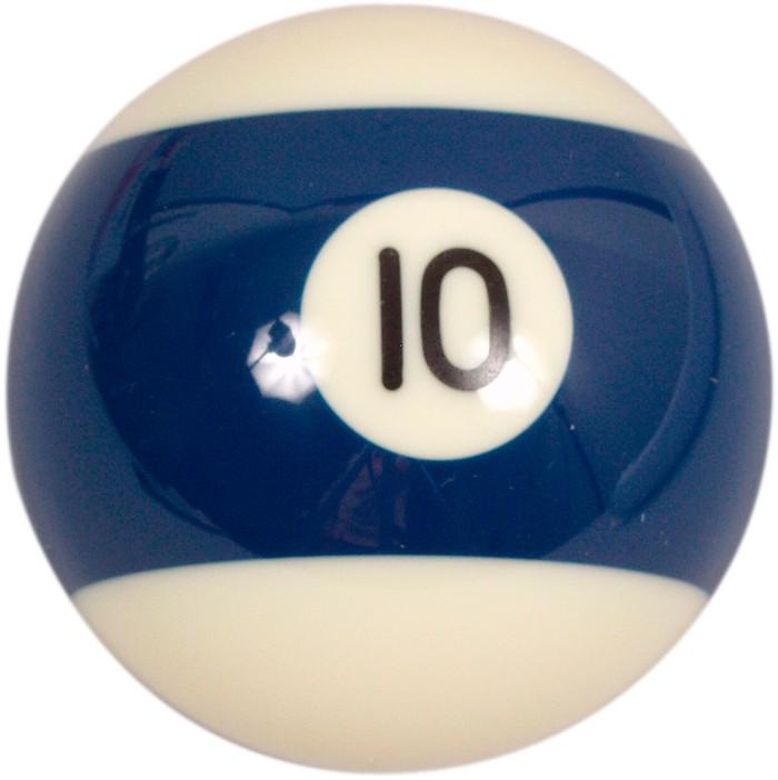 Image of   Aramith Loose Billiard No.10 Ball 57.2mm