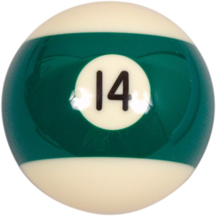 Image of   Aramith Loose Billiard No.14 Ball 57.2mm