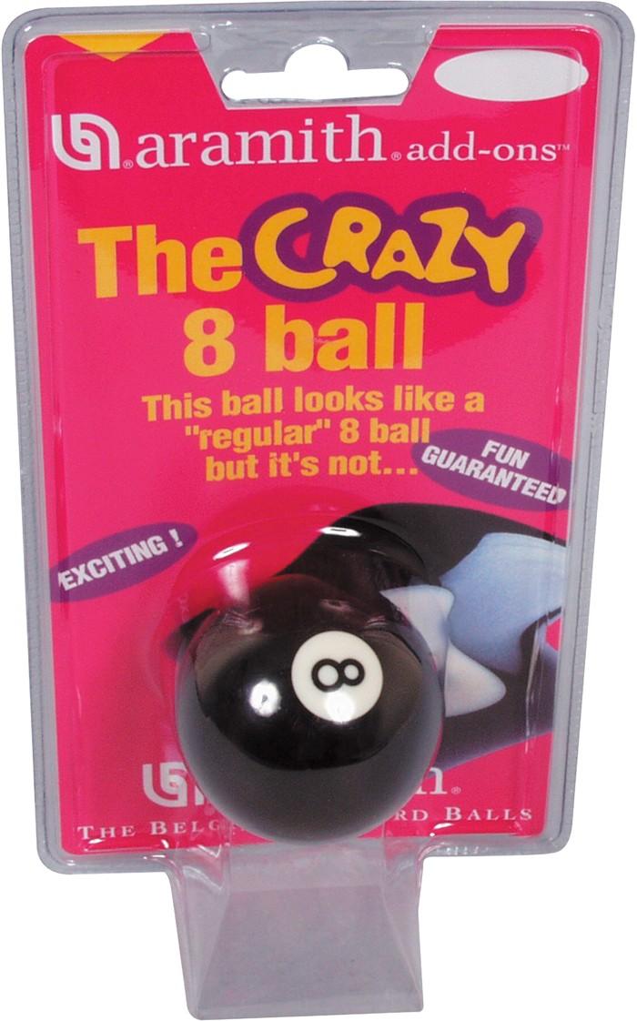 Image of   Aramith Loose Pool Crazy 8 Ball 57.2mm