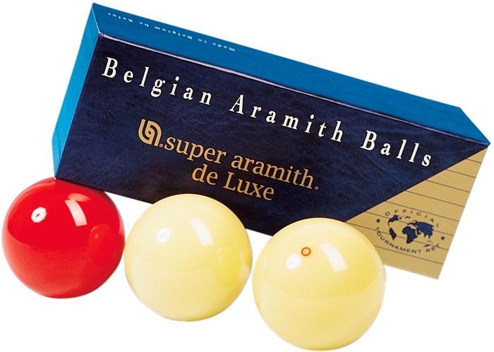 Image of   Aramith Super De Luxe carom Ball Set 61.5mm