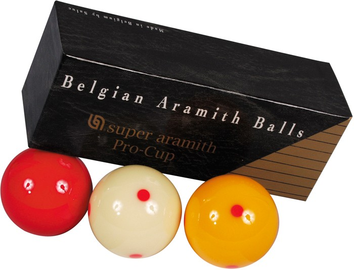 Image of   Aramith Super Pro Cup carom Ball Set 61.5mm