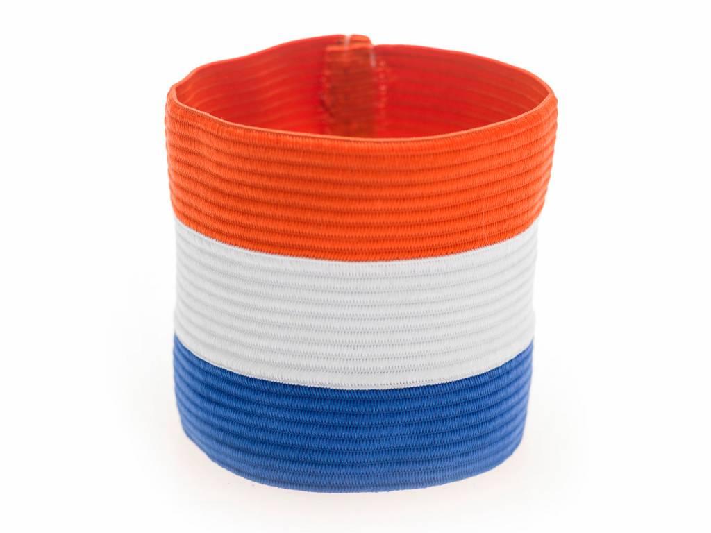 Image of   Agility Sports Captains Band Netherlands - Rød / Hvid / Blå
