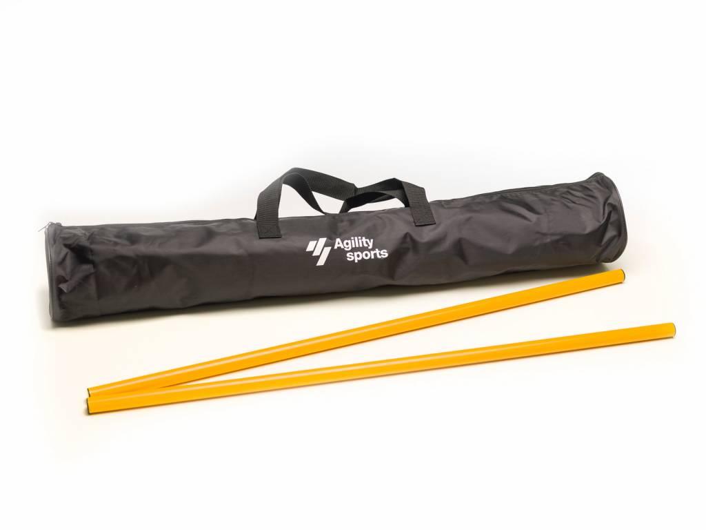 Image of   Agility Sports Træning Rods Bag - 110 x 20 x 20 cm - Sort