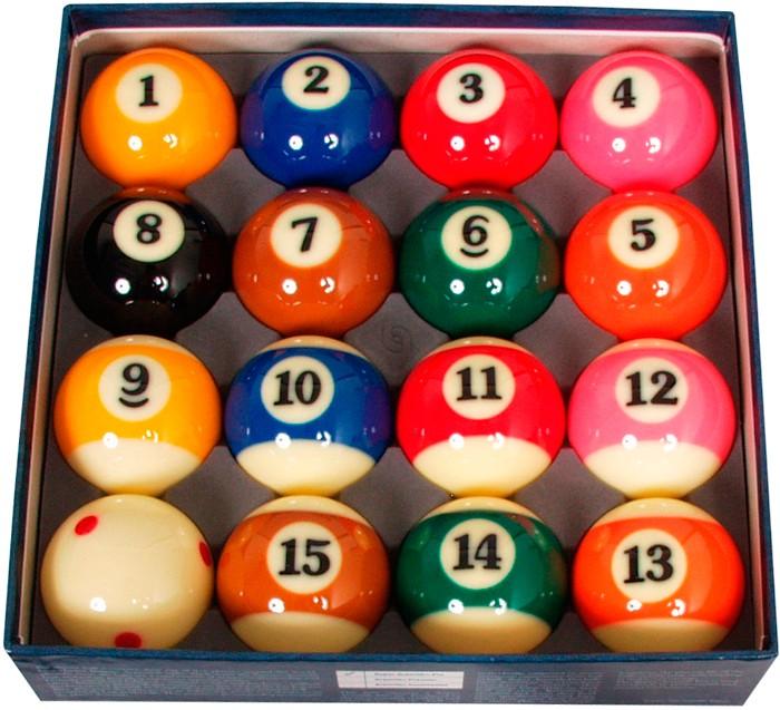 Image of   Aramith Super Pro TV Pool Ball Set 57.2mm