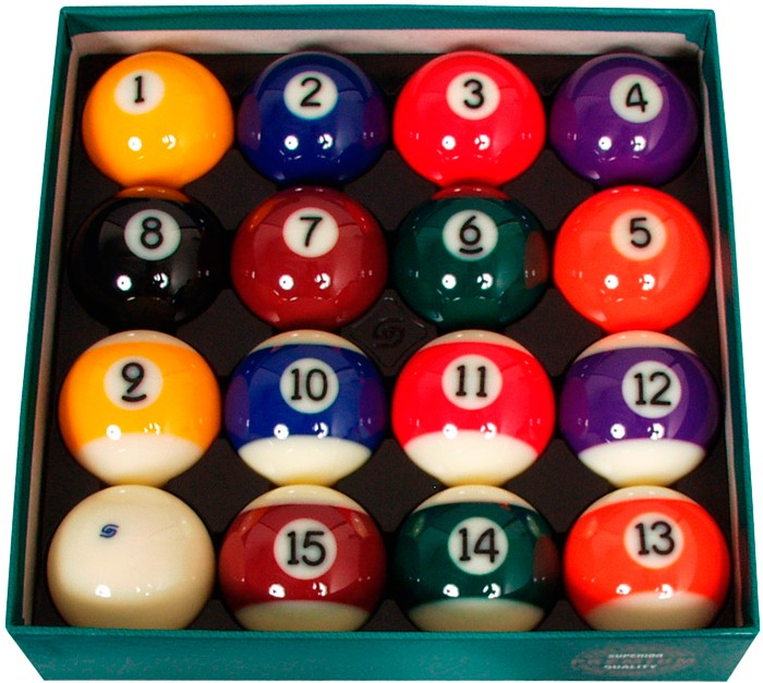 Poolballenset Aramith Premium 57,2 mm