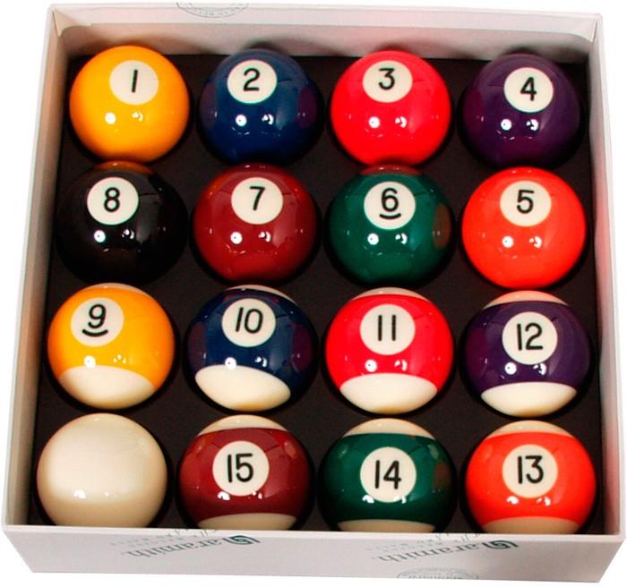 Image of   Aramith Standard Pool Ball Set 57.2mm