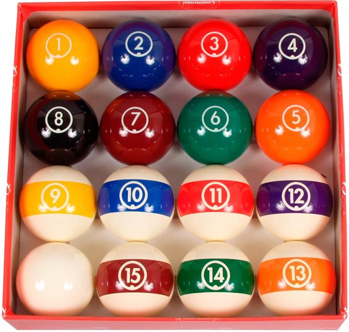 Image of   Aramith Continental Pool Ball Set 57.2mm