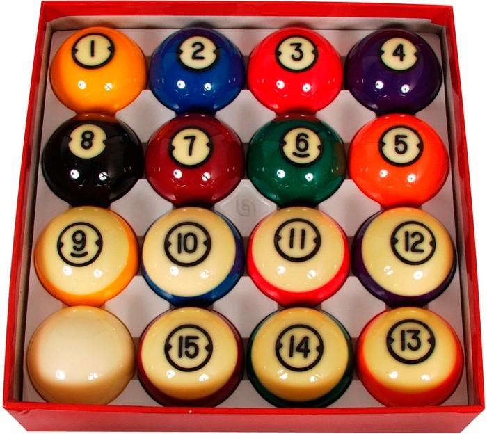 Image of   Aramith Brunswick Pool Ball Set 57.2mm