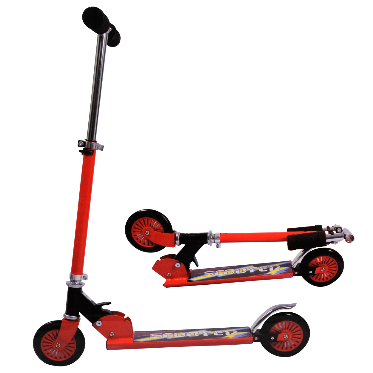 Image of   Sports Active Step Aluminium - Rød