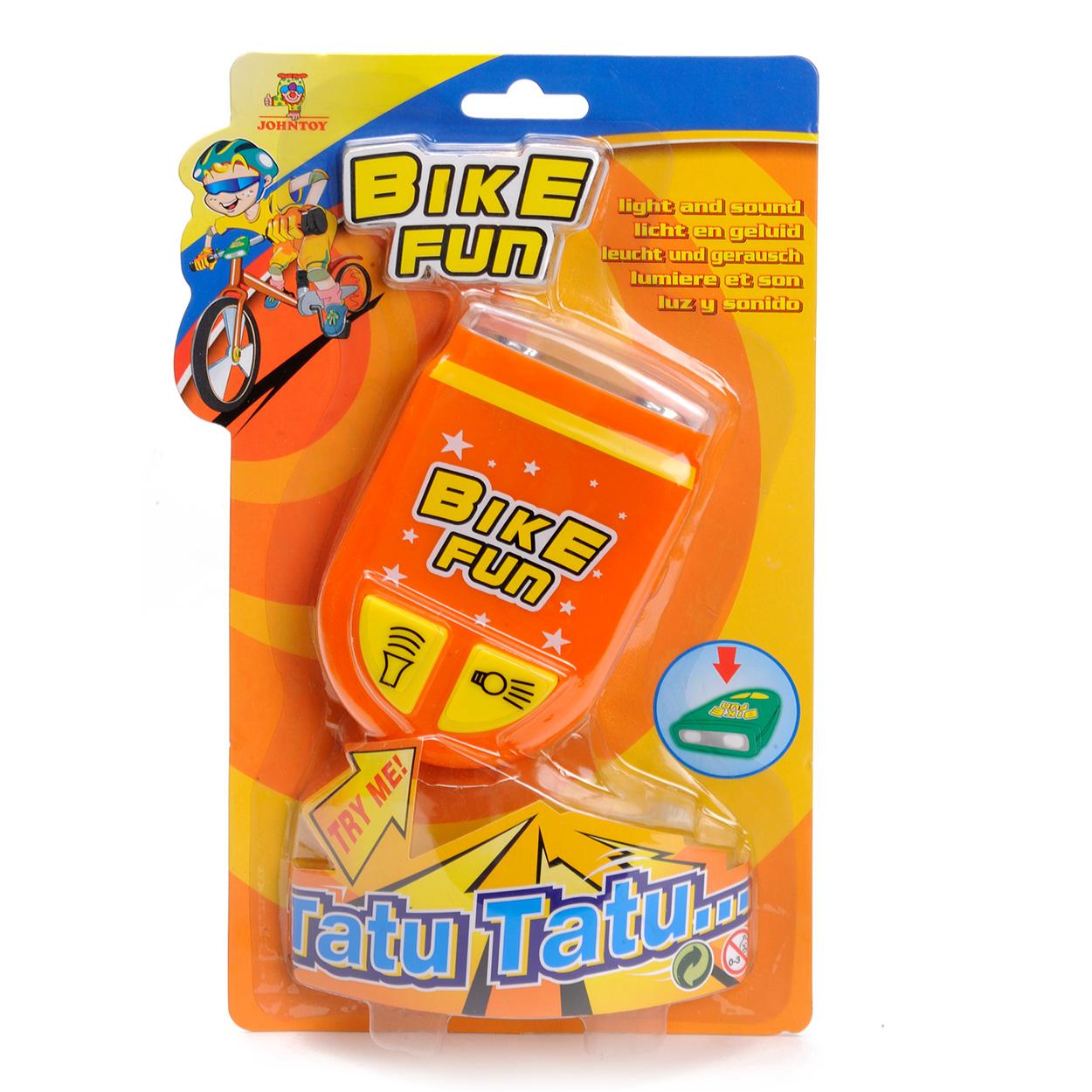 Image of   Bike Siren Light and Sound - Orange