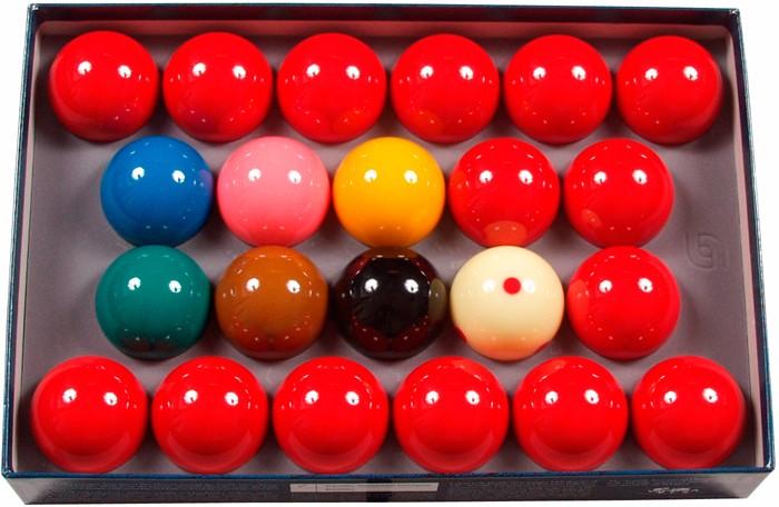 Image of   Aramith Tournament Champion Snooker Set 52.4mm