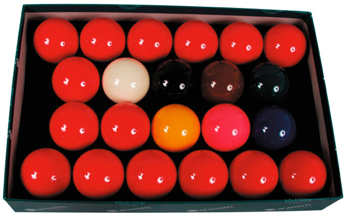 Image of   Aramith Snooker Ball Set - 57,2 mm