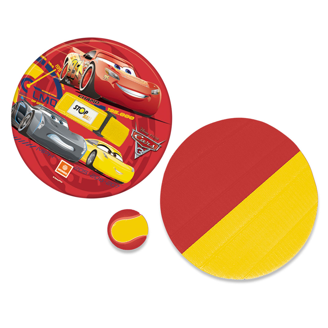 Image of   Cars 3 Catch and Throw Game Velcro