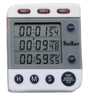 Image of   Hanhart kort periode Timer Labor 3